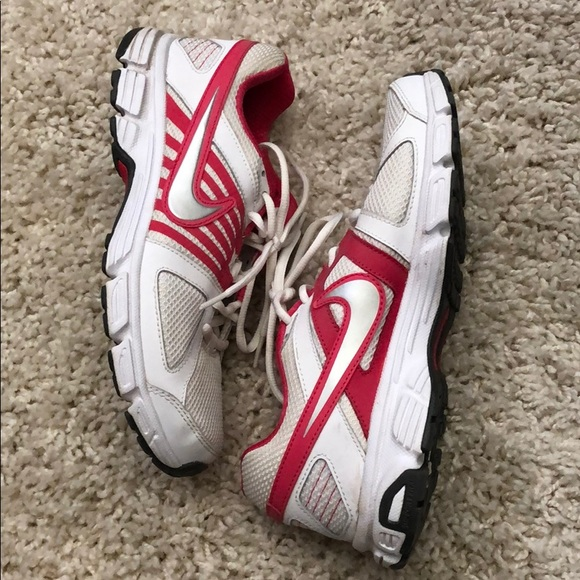 Nike Shoes - Pink and white Nike's